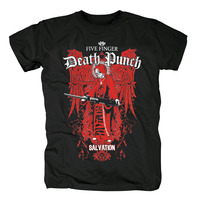 Bloodhoof FIVE FINGER DEATH PUNCH PURGATORY Tales from the Pit SHIRT Asian Size