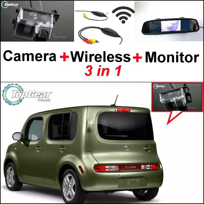 detail feedback questions about cawanerl for nissan cube z123 in1 special camera wireless receiver mirror monitor easy diy backup parking system for