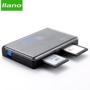 Image 2 - Llano 4 en 1 USB 3,0 lector de tarjetas inteligentes para SD/TF tarjetas de memoria Flash Multi lector de tarjetas 2 tarjetas de lectura simultánea escribir