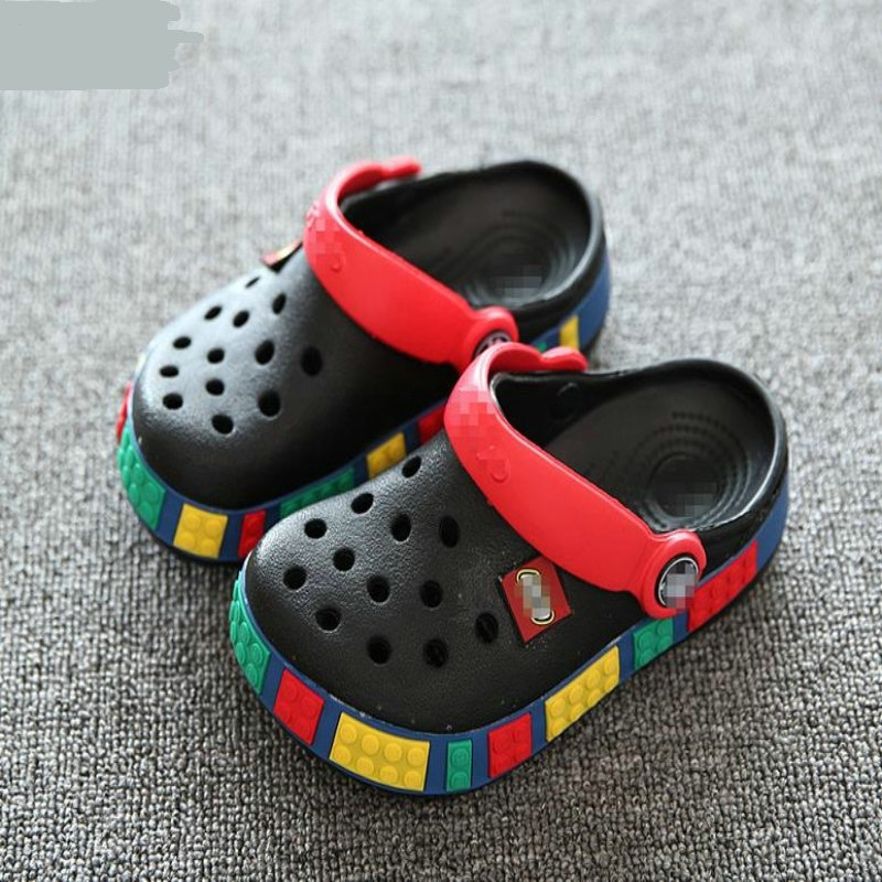 2019 Summer Girls Boys Kids Children's Beach Sandals Baby Rubber Hole Clogs Shoes Slippers Breathing For 4 - 12 Years Old