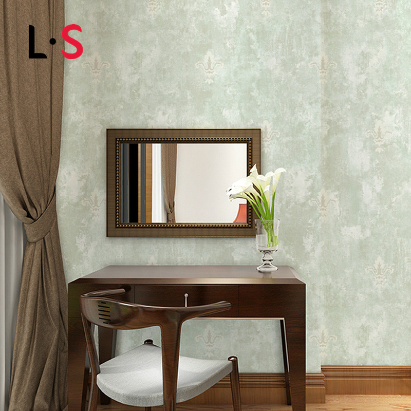 Painting Supplies & Wall Treatments Adaptable 10m Non-woven Fabric Embossed Wallpaper Solid Color Living Room Sofa Wall Decor Design Wall Paper Roll Wp16064