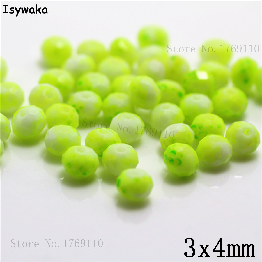 Isywaka 3X4mm 30,000pcs Rondelle  Austria faceted Crystal Glass Beads Loose Spacer Round Beads for Jewelry Making NO.05Isywaka 3X4mm 30,000pcs Rondelle  Austria faceted Crystal Glass Beads Loose Spacer Round Beads for Jewelry Making NO.05