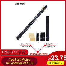 ammoon Mini Pocket Bb Saxophone Sax ABS with Alto Mouthpieces 10pcs Reed Carrying Bag Woodwind Instrument(China)