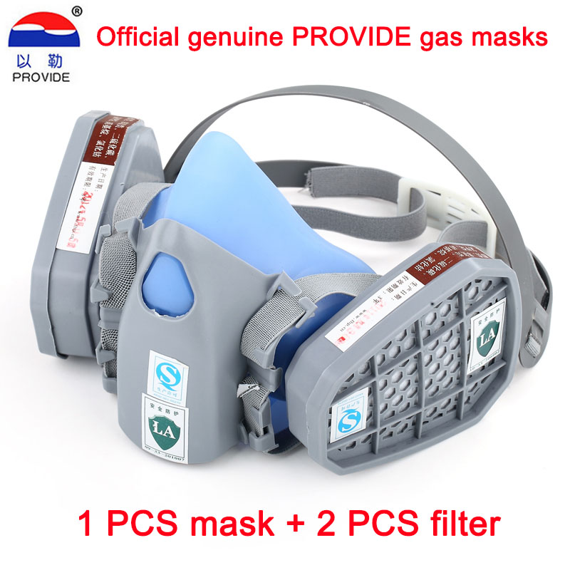 New to 9400 a silicone gas dust mask painting industrial protective respirator appliances for labor protection