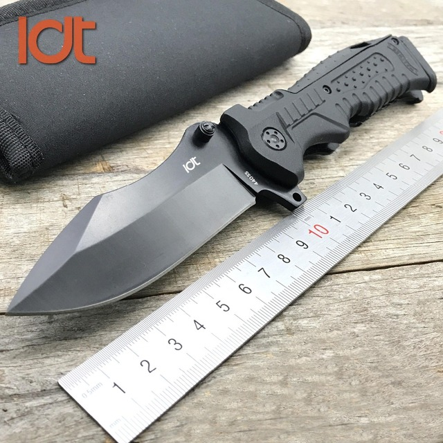 LDT P99 Folding Knife 440SS Blade  Plastic Handle Walther Knives Camping Outdoor Survival Hunting Pocket Knifes Tools 1