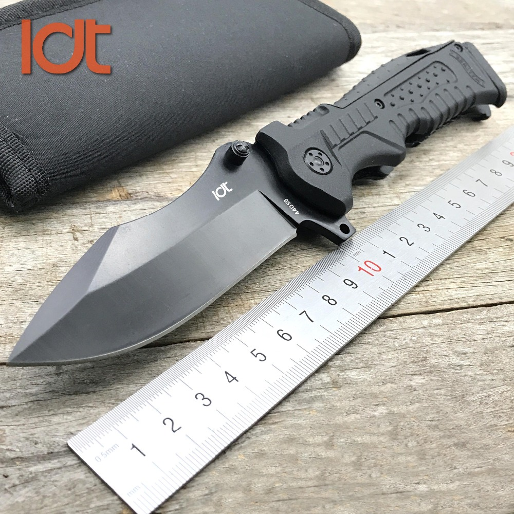 LDT P99 Folding Knife 440SS Blade  Plastic Handle Walther Knives Camping Outdoor Survival Hunting Pocket Knifes Tools