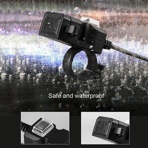 Image 5 - Doppia Porta USB 12V Impermeabile Moto Moto Manubrio Caricatore 5V 2A Adattatore di Alimentazione Presa di Alimentazione per il Telefono Mobile caricatore