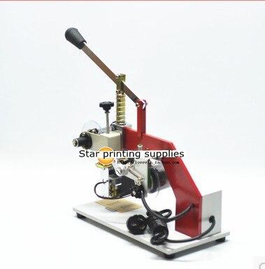 Heißfolienprägemaschine Datumsdruckmaschine mit 0-9 Nummern 3 - Büroelektronik