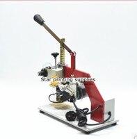 Máquina de Folha de Hot Stamping Máquina de Impressão da Data com números 0 9 3 conjuntos|machine machine|machine stamping|date printing machine -