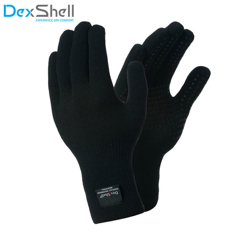 DexShell men s and women s knitted warm breathable warm waterproof gloves outdoor sports riding ski