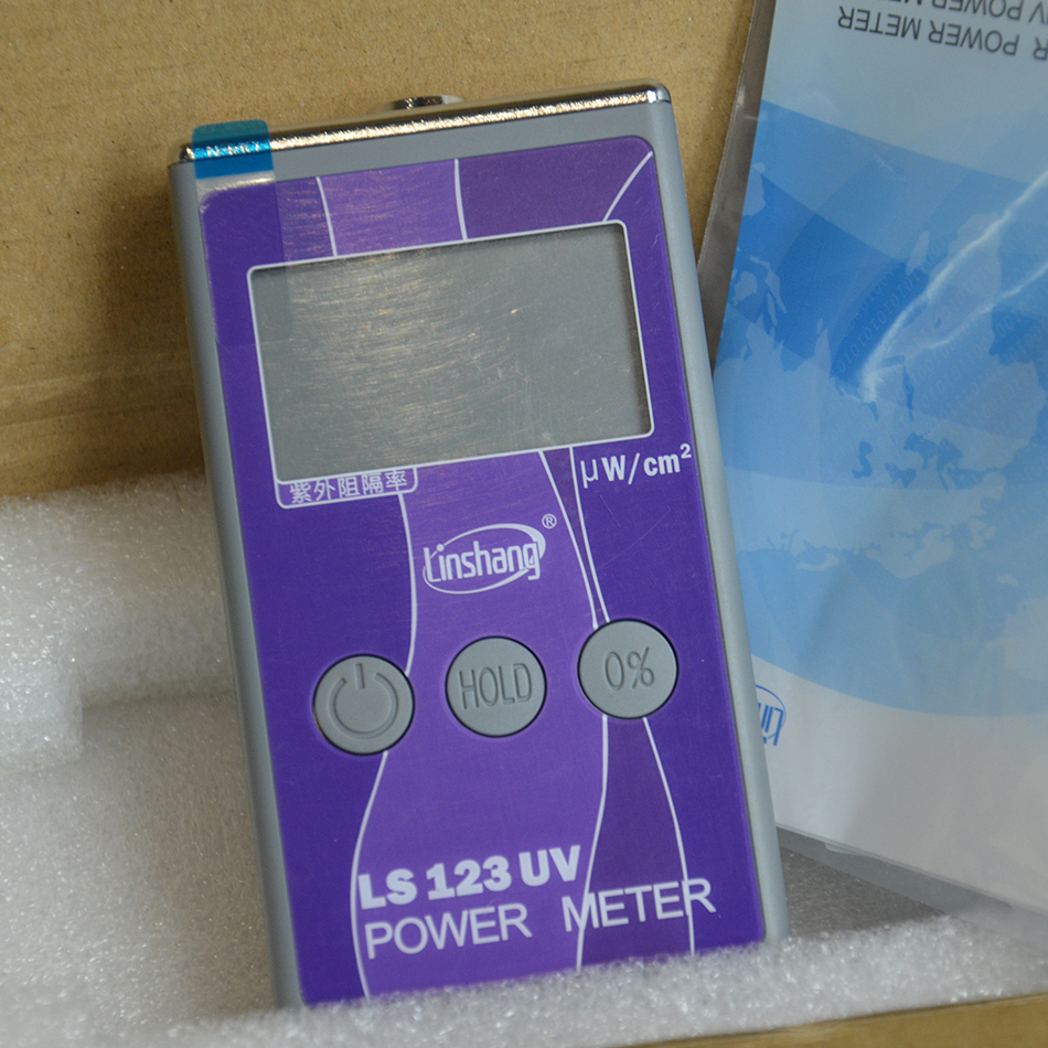 New LS123 UV Power Meter Tester; Spectral Wavelength Power Meter 260nm-380nm