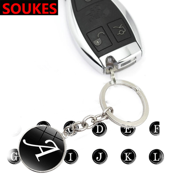 Letter Badge Car Logo Key Holder Rings Chain Buckle For BMW E46 E39 E90 E60 E36 F30 F10 E34 X5 E53 E30 F20 E92 E87 M3 M4 M5 X6 image
