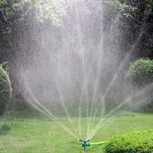 Садовый Разбрызгиватель 360 13*13*23 см ABS газон разбрызгиватель автоматический 360 Вращающийся садовый разбрызгиватель воды полив лужайки L919
