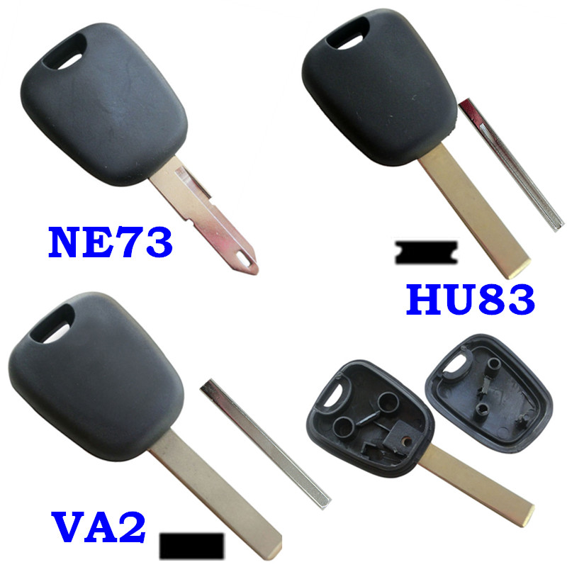 rmlks car key shell transponder key blank blade fit for. Black Bedroom Furniture Sets. Home Design Ideas