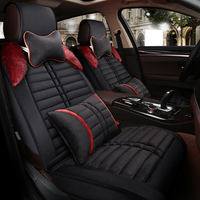 CHE AI REN feather cotton car seat cover, ordinary luxury 3D full set of cushion for all five common models