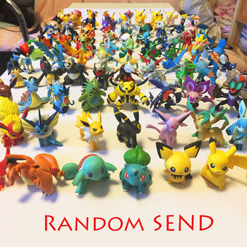 Random Send Pokeball Action Figure Kids Toys for Children Birthday Christmas Gifts pokemones Action Figure Toys for Girls Boys