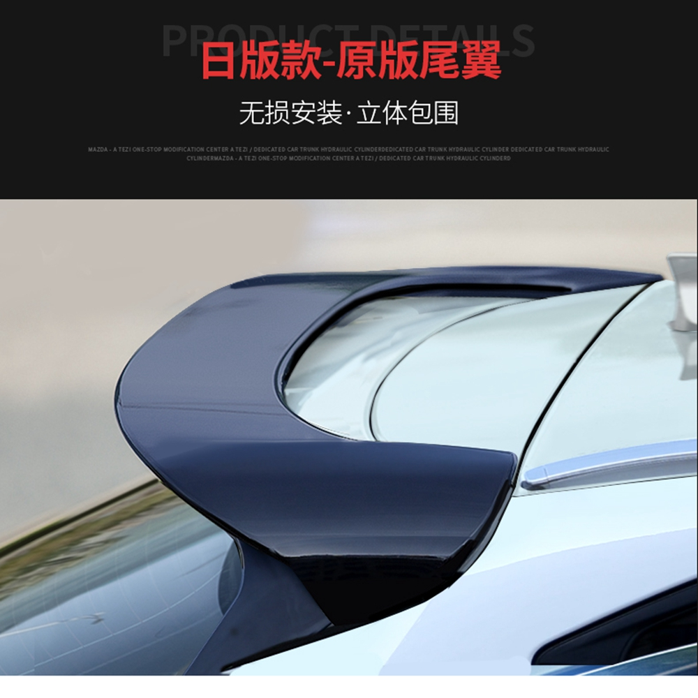 MONTFORD Car Styling ABS Plastic Unpainted Primer Color Rear Trunk Boot Wing Rear Lip Roof Spoiler For Mazda CX-5 CX5 2017 2018 abs plastic material unpainted primer color tail trunk wing rear roof spoiler car styling for honda crv cr v 2007 2011 aitwatt