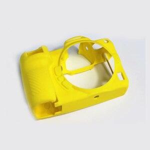 Image 3 - Высококачественный мягкий силиконовый чехол Защитный чехол для корпуса защитная рамка для Nikon Z7 Z6 аксессуары для камеры с ручкой для очистки