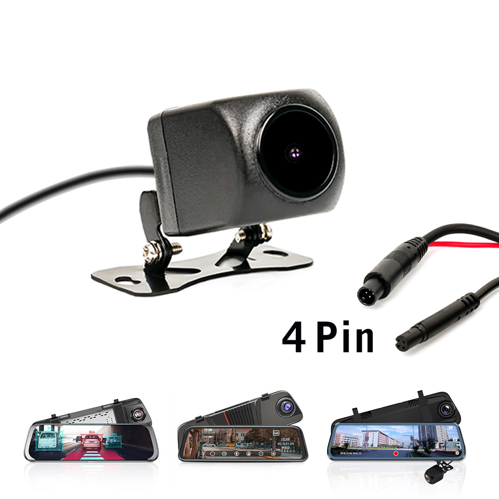 1080P AHD Car Rear View Camera with 4 pin for Car DVR Car Mirror Dashcam Waterproof 2.5mm Jack Rear Camera Parking Camera