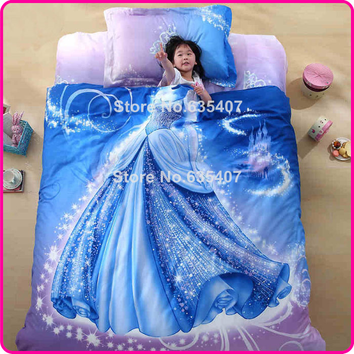 Wonderful 3D Carton Princess Cinderella Bedding Set Cover Single/Full Size In Bedding  Sets From Home U0026 Garden On Aliexpress.com | Alibaba Group