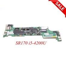 NOKOTION 04X5158 04X5146 ноутбук материнская плата для Lenovo Thinkpad X240 SR170 i5-4200U Процессор бортовой DDR3L VIUX1 NM-A091 основная плата
