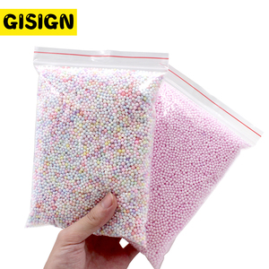 12g Addition for Slime Warm Color Snow Mud Particles Accessories Tiny Foam Beads Slime Balls Supplies Charms(China)