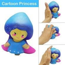 Детские игрушки принцесса кукла ароматизированный медленно поднимающийся игрушки снятие стресса игрушка мягкие игрушки# E20