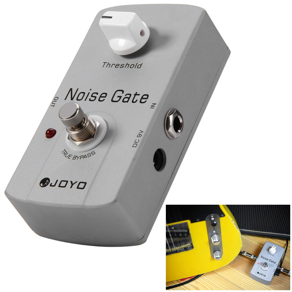JOYO JF - 31 Electric Guitar Effect Pedal True Bypass Design Guitar Noise Gate Effect Pedal with Aluminul Alloy MaterialJOYO JF - 31 Electric Guitar Effect Pedal True Bypass Design Guitar Noise Gate Effect Pedal with Aluminul Alloy Material