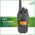 Actualización de la versión original tyt th-uv8000d amateur de mano transceptor de doble banda walkie talkie de radio portátil 10 w radio de dos vías
