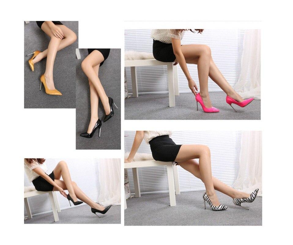 Stiletto Thin Heel Pointed Toe High Heels 1