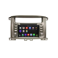 7 Inch Android 4 4 4 Dual Quad Core Car DVD Player For TOYOTA For Lander
