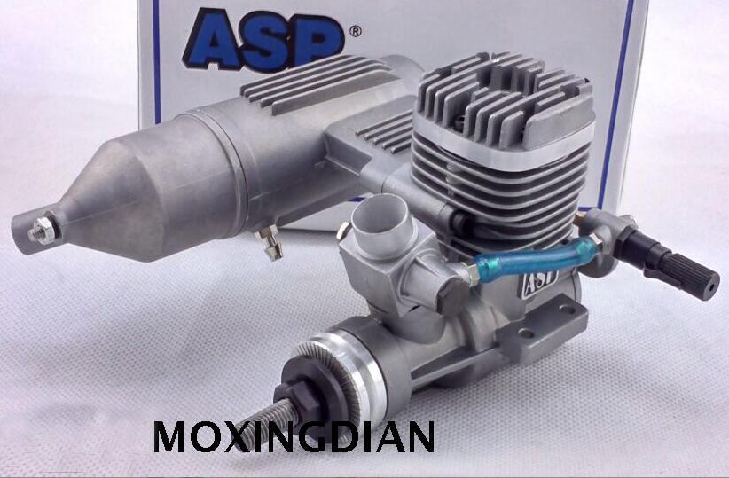 ASP 2 Stroke S61A / S61AII Nitro Engine 10CC for RC Airplane original asp wasp ap06 s06a ap061a 061 r c nitro engine 6 grade 1cc mini engine for rc airplane