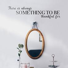 Beauty there is always something to be thankful for Home Decor Accessories For Kids Rooms Decoration Wall Art Decal