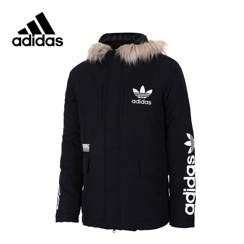 Adidas New Arrival Official Men Jacket Originals Windproof Hooded Leisure Sportswear AY8638 original new arrival official adidas originals trf series aop men s jacket hooded sportswear