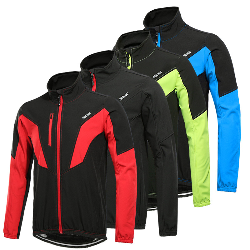 arsuxeo 2017 winter thermal cycling jacket mtb bike windproof wind windbreaker sports clothes for men 2015 arsuxeo mtb 1202
