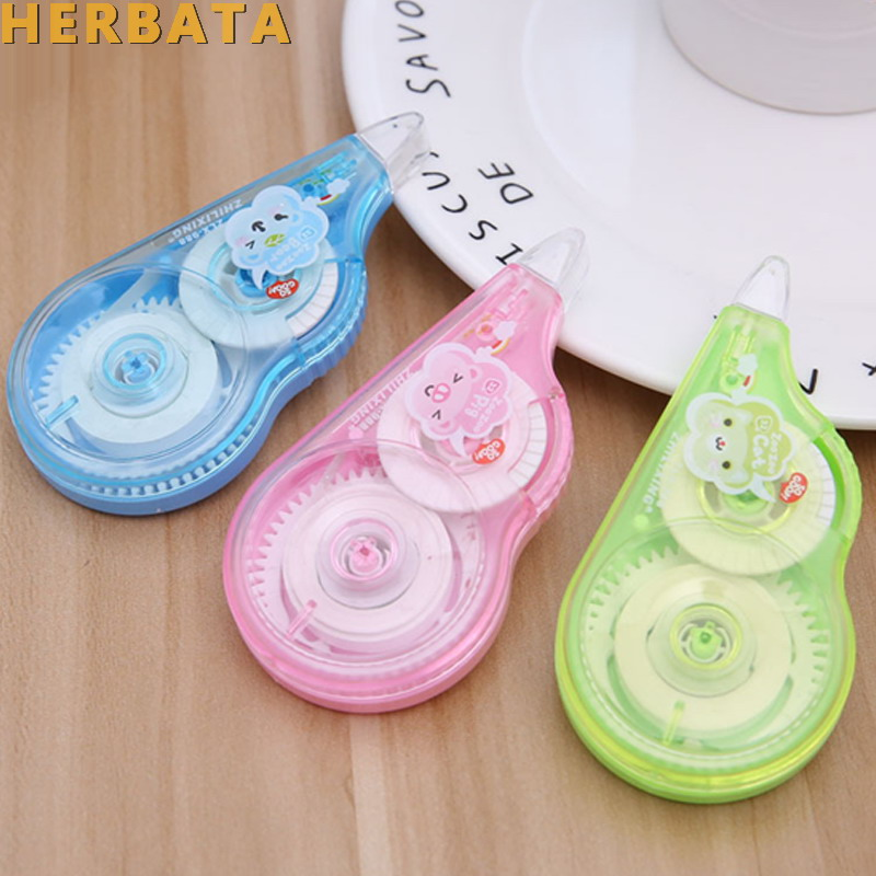 DIY Office Work Runner Dispenser Correction Tape Double Sided Adhesive Tapes Glue Sealing Letter Scrapbooking Stationery CL-1404