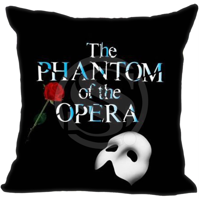 Us 40 Musical Die Phantom Der Oper Kissenbezug 16x16 Zoll Zwei Seiten Mit Reißverschluss Kissenbezug In Kissenbezug Aus Heim Und Garten Bei