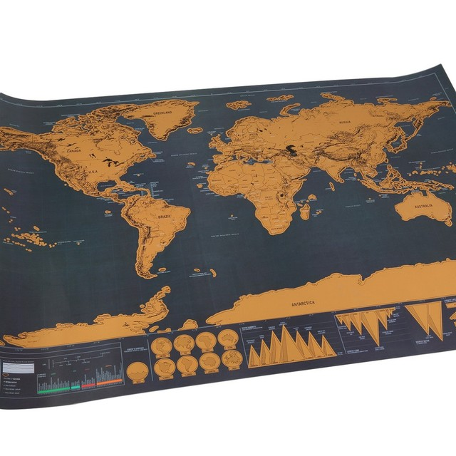 Travel scratch world map poster sticker national geographic world travel scratch world map poster sticker national geographic world map vintage poster wall sticker for bar gumiabroncs Image collections