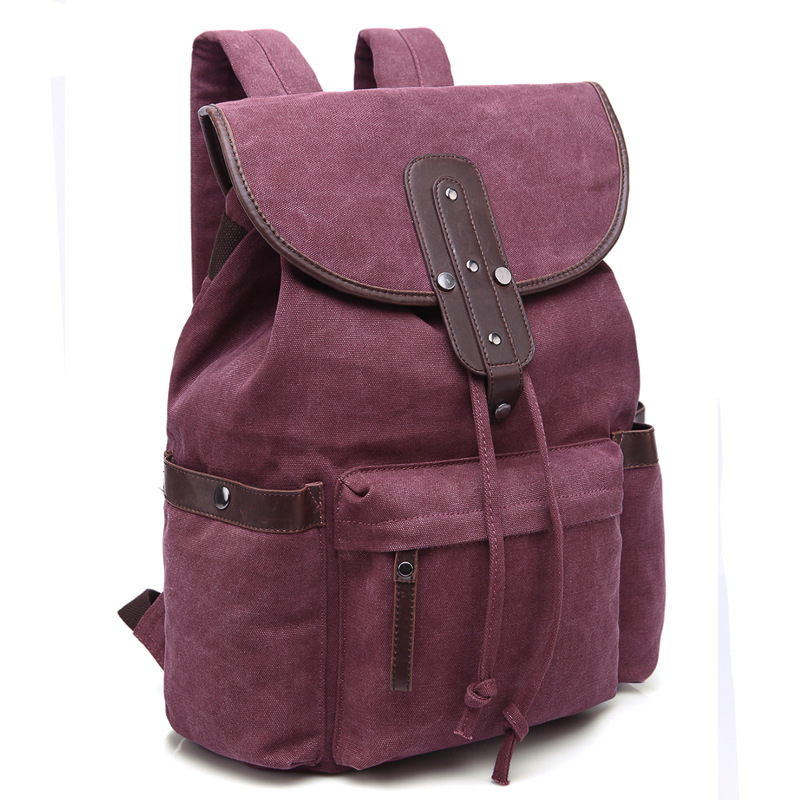 Femmes toile sac à dos Mochila décontracté cordon sac à dos sacs d'école pour les adolescentes doux voyage dos Pack pochette d'ordinateur
