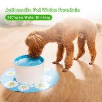 1.6L Automatic Cat Water Fountain Mute Pet Water Fountain Drinking Large Drinking Bowl Water Dispenser Pest Cat Automatic Drink