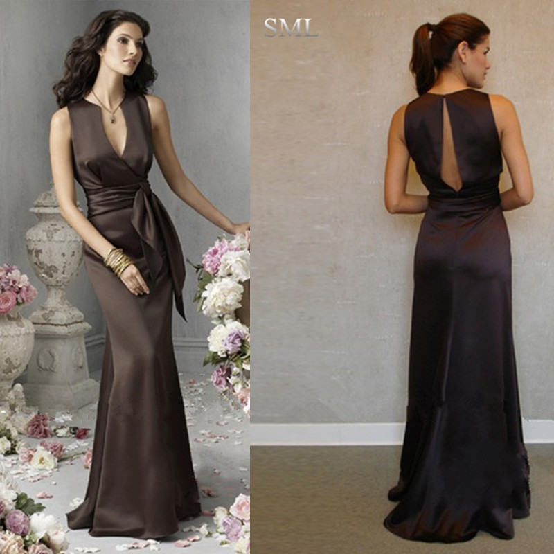 Popular Chocolate Bridesmaid Dresses-Buy Cheap Chocolate ...