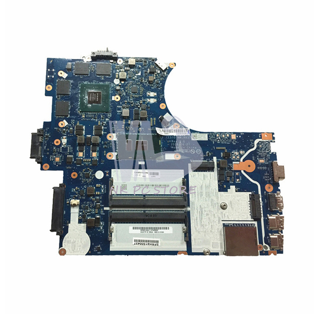 US $359 1 10% OFF|NOKOTION CE570 NM A831 Main Board For Lenovo thinkpad  E570 Laptop Motherboard 15 6 inch SR2ZU i5 7200U DDR4 GTX950M Video Card-in