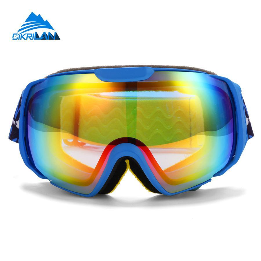 4695bb0f48c847 Vente chaude Unisexe Nouveau UV400 Protection Snowboard Ski Lunettes Moto  Ski Lunettes Coupe-Vent La Poussière TPU Neige Lunettes Hommes