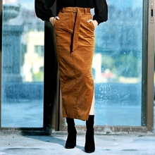 Stretch Slit Skirt Plus
