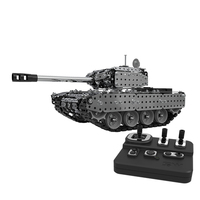 2019 952 pcs RC Battle Tank Cannon Kids Boys Remote Control Tank Military Model Toys