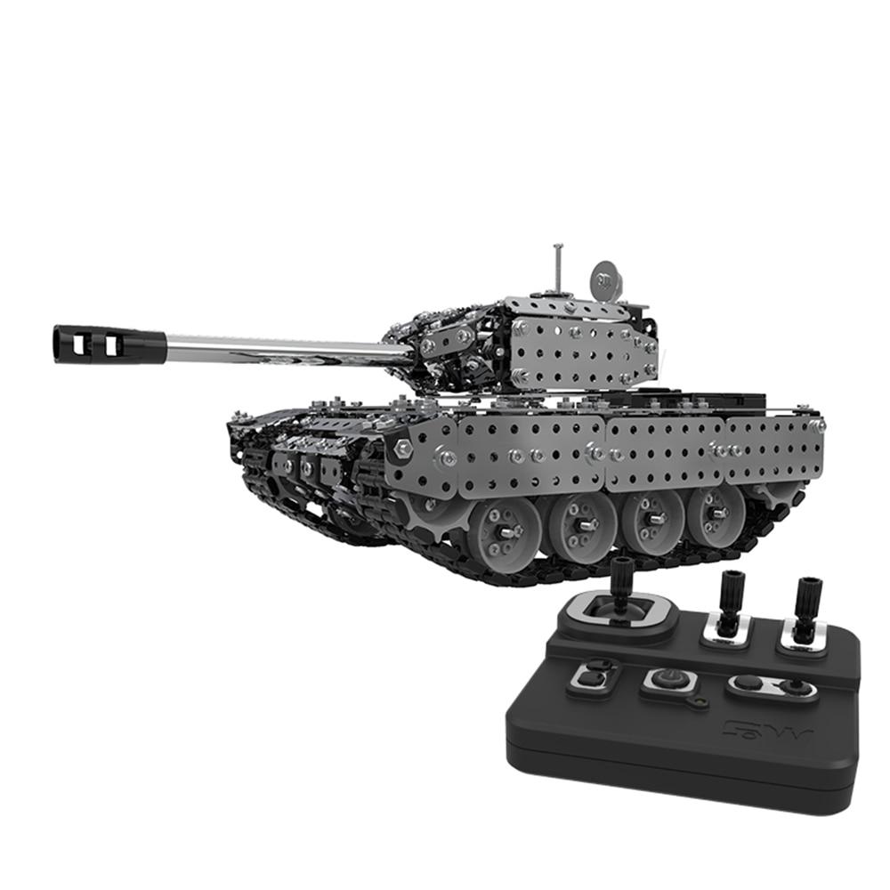 2019 952 pièces RC bataille réservoir canon enfants garçons télécommande réservoir militaire modèle jouets