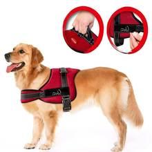 Нейлоновый Поводок для собак без тяги для собак быстрый контроль службы домашних животных жилет для тренировок средних и больших рабочих собак Pitbull Husky