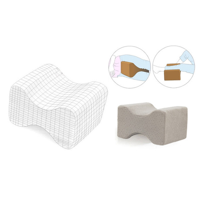 Rectangle Shaped Memory Foam Orthopedic Pillow