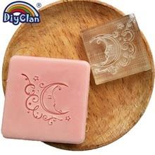 Ramadan Acrylic DIY Resin Handmade Soap Stamp Chapter Moon Mini Diy Multiple Styles Patterns