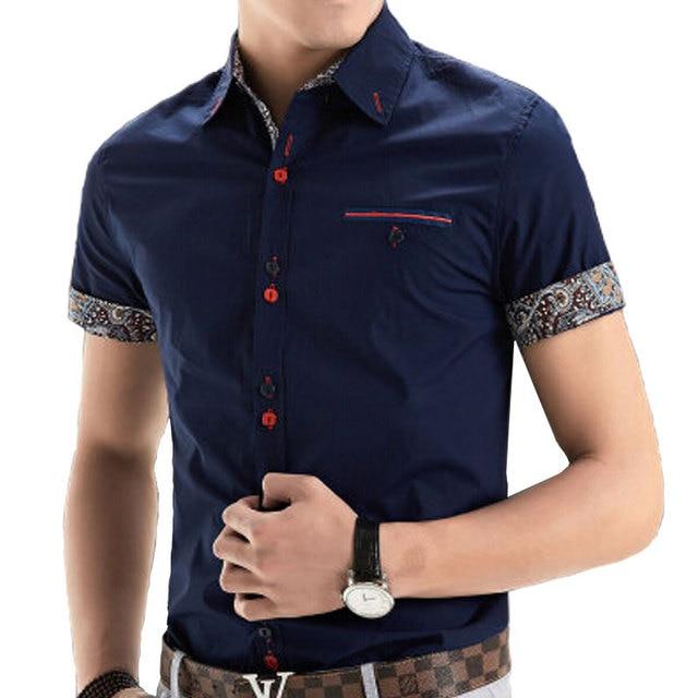 Buy 2015 New Brand Mens Dress Shirts